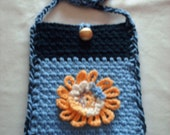 Small Crochet Shoulder Bag for Young Adult