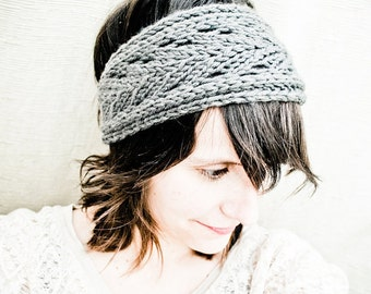 KNITTING PATTERN PDF File - Lacefield Knit Headband