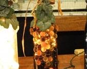 Wine Bottle Light - Brown