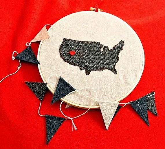 My Heart Belongs in....The United States Of America  - U.S.A.