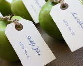 Custom Printed Vintage Escort Cards / Place Cards