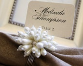 Formal CUSTOM PRINTED Escort Cards / Place Cards