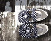 Baby Shoes Soft Soled -Swiss Polka- Size 1-4