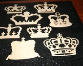 12Custom for Regina- Laser Cut Wood Crowns