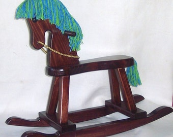 Wooden Rocking Horse - personalized