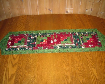 Table Runner Christmas