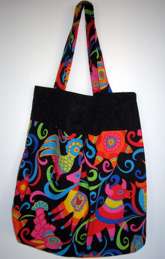 Colorful/ Festive Big Bag/Tote