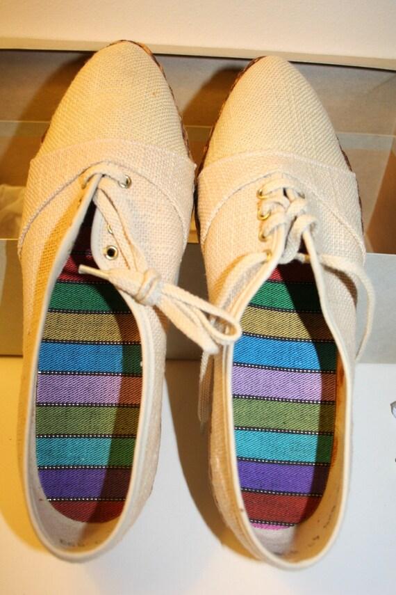Vintage Williams Woman's Natural Hobsack Shoe