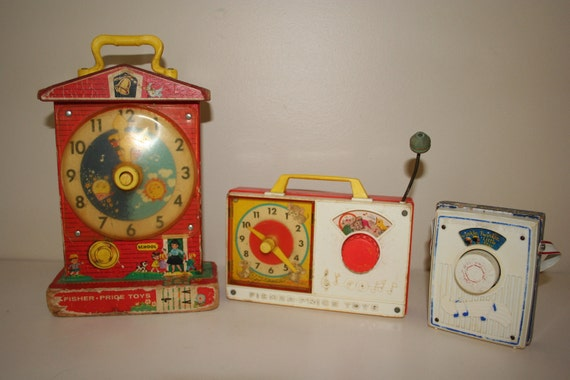 Reserved for lalala16 Vintage Fisher Price Musical Learning Toys