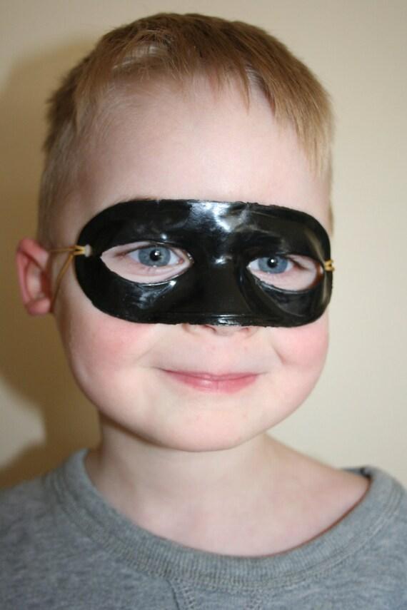 Set of 10 Black Play Masks