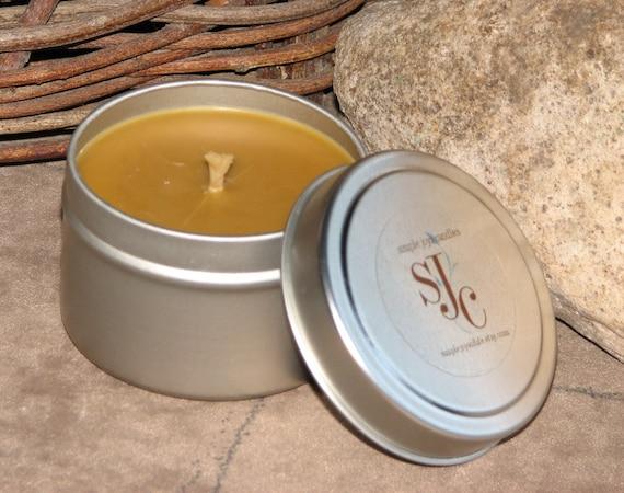 Soy Candle - Caribbean Teakwood in 6 oz. tin