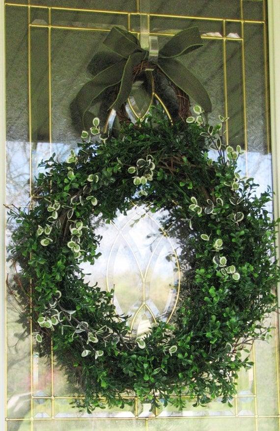 Boxwood Wreath, Summer Wreath