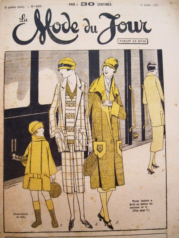 La Mode 1920 S Fashion Magazine France