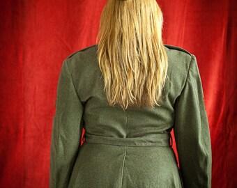 USMC,marine corp jacket, mid 1950green,corporal, vintage, military ,usa,