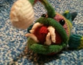 Knitted Multicolored Anglerfish