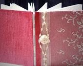 Custom Wedding GuestBook, OOAK Lace, Personalized, Handmade, ReadytoShip