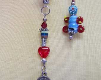 B47 Beaded Bookmark