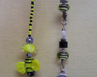 B54 Beaded Bookmark