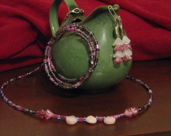 Necklace, Bracelet and Earring set