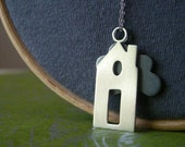 The Refuge/Home Sterling Silver Necklace
