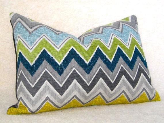 Schumacher Zenyatta Mondatta Designer Pillow 12x18 Inch