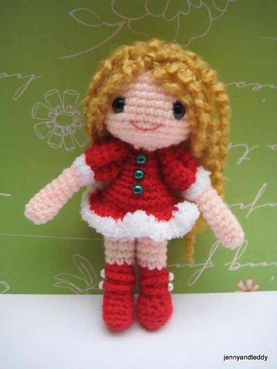 Amigurumi Hello Kitty Crochet Pattern : girl amigurumi pdf pattern-sandy
