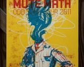 Mute Math Odd Soul Tour 2011 Gig Poster