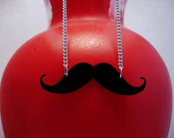 Original Mustache Necklace
