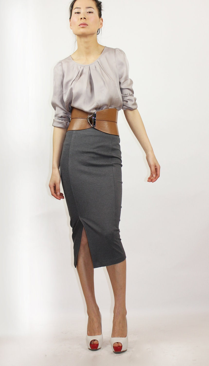 crop top and pencil skirt ideas pictures