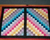 Amish wall quilt