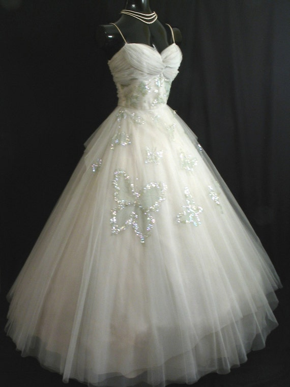 Reserved for donnaf1979 vintage 50s 1950 39 s frank starr for Vintage 50s wedding dresses