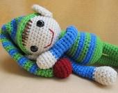 Ernie and Erline Elf Crochet Amigurumi Pattern