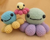Octopus Stackers Crochet Amigurumi Pattern