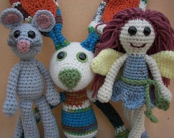 Super Foo Foo Crochet Amigurumi Combo Pattern Set