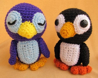 Percy Penguin Crochet Amigurumi Pattern