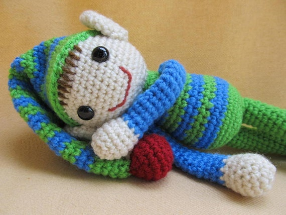 Ernie and Erline Elf Crochet Amigurumi Pattern