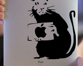 I Smell a Rat vinyl decal (FREE SHIPPING)