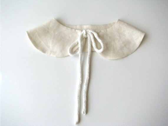 Butterfly detachable Peter Pan collar, Wedding Accessory