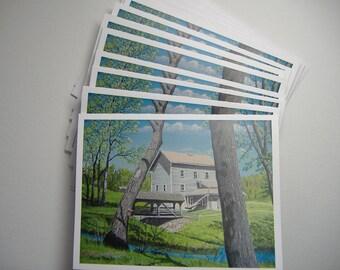 Beckman Mill Notecards