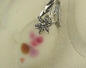 Santa Cruz Sea Glass Jewelry RARE Pink And White Necklace