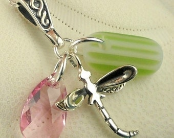 Statement Jewelry Santa Cruz Sea Glass Necklace RARE Spring Fling