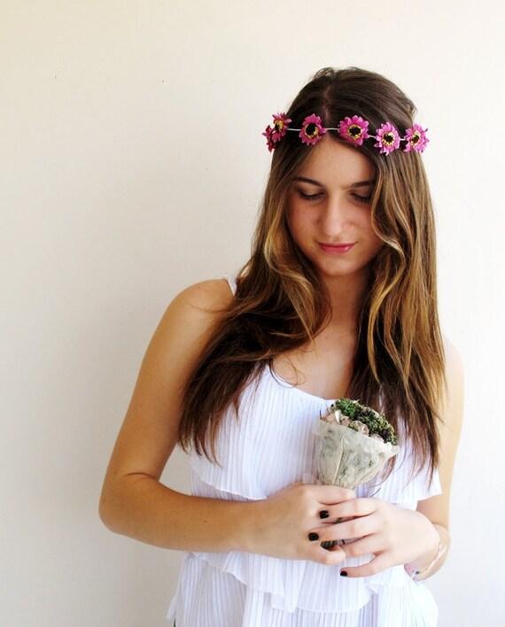 Wedding hair accessories,Bridal accessories,Flower Headpiece, Bridemaid Headband, Wedding Flowers