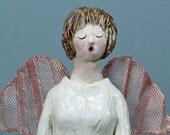 ANGELENA, the SINGING ANGEL - Original Clay Sculpture
