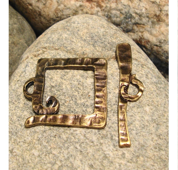 Special Listing for Pam - 2 pcs Bronze Pendant-Closers