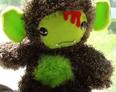 Bigfoot Zombie Plush