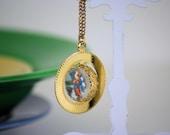 Catholic Saints Revolving Bubble Necklace