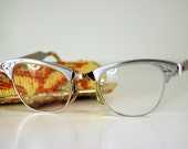 Art Craft Cat Eye Glasses With Case
