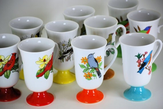 Bird Mug Set (10)