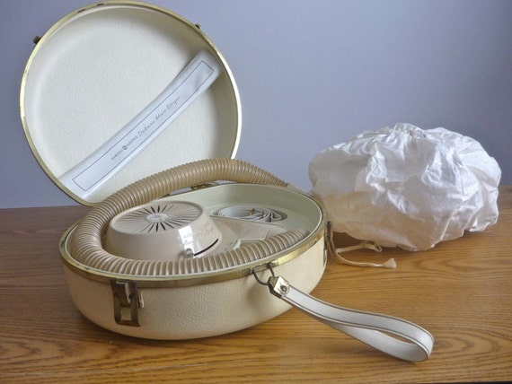 Vintage Ge Deluxe Hair Dryer Amp Bonnet By Sillypicklesvintage