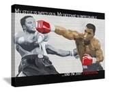 "Iron Mike Tyson ""Ferocious"" - 18x24 Limited Edition Canvas Print"